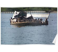 Sunken Ship Poster