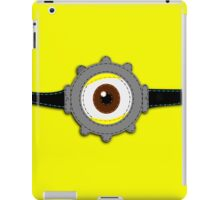 Minion Goggles Patch iPad Case/Skin