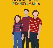 Fun Home - I Can See All of Pennsylvania  by miralouise