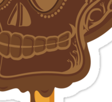 CHOCOLATE SKULL Sticker