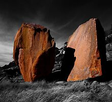 Enchanted Rock Megaliths, Texas by Tom Fant
