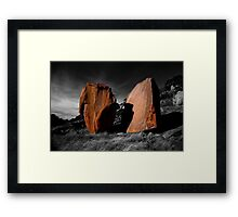 Enchanted Rock Megaliths, Texas Framed Print