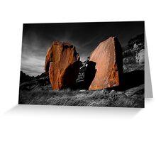 Enchanted Rock Megaliths, Texas Greeting Card
