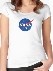 NASA TAR DIS Women's Fitted Scoop T-Shirt