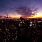 Rockefeller Sunset View by JLaverty