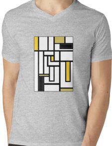 'Modern Vibe 5'  Mens V-Neck T-Shirt
