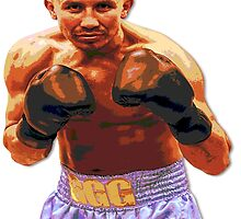 GGG Gennady Golovkin - Red/Bronze effect Boxing by RighteousOnix