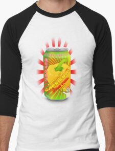 Super happy capsicum yum yum drink! Men's Baseball ¾ T-Shirt