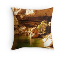 Swimming holes on the Colorado  Throw Pillow
