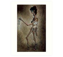 XV: She's a Burning String... Art Print
