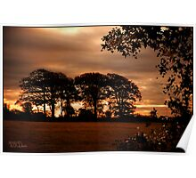 Dawn Light East Sussex: England UK Poster