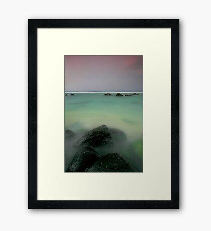 The Calm Before Framed Print