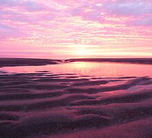 sunrise low tide by chili