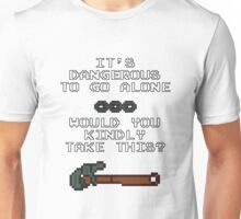 Would You Kindly Take This? Unisex T-Shirt