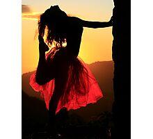 Dancing on High Photographic Print