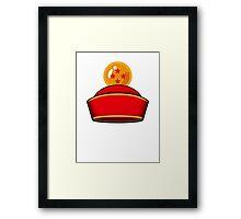 Son Gohan's Hat Framed Print