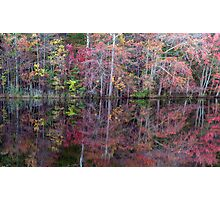 Canton, New Jersey USA Pond Peak Color Photographic Print
