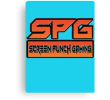 Screen Punch Gaming Canvas Print