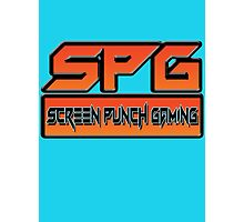 Screen Punch Gaming Photographic Print