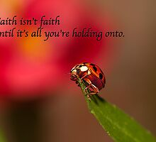 Faith . . .  by Bonnie T.  Barry