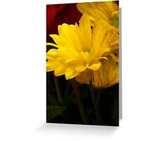 Autumn Bouquet - Yellow Daisies  Greeting Card