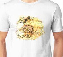 cheetah and cub t-shirt Unisex T-Shirt