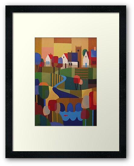 RICHMOND VIEW, TASMANIA by Thomas Andersen