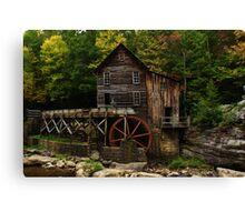 West Virginia Grist Mill Canvas Print