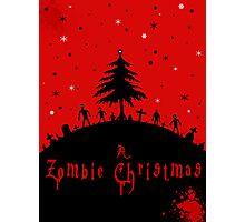 A zombie Christmas Photographic Print