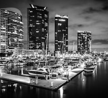 Docklands , Melbourne  by Christine  Wilson Photography