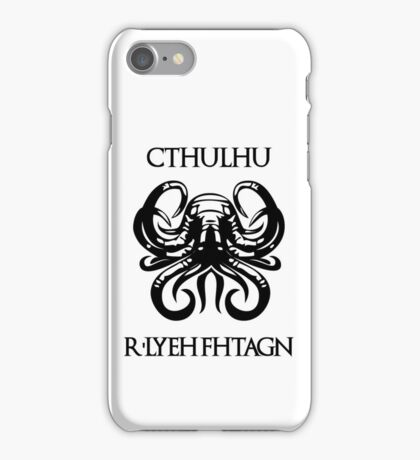 CHTULHU iPhone Case/Skin