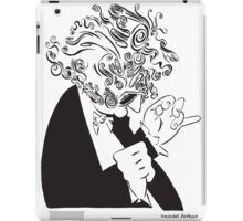 Mr. Falker Ink Portrait iPad Case/Skin