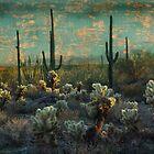 Desert Landscape by Barbara Manis