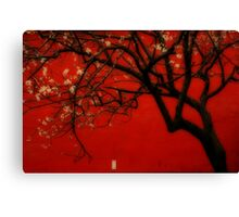 China Red [Orton] Canvas Print