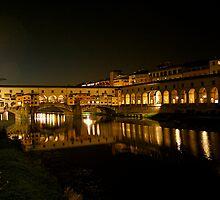 Ponte Vecchio by Gursimran Sibia