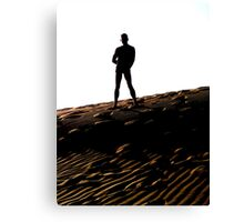 Man on the Dune Canvas Print