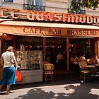 Cafe Quasimodo Paris by JD Dorosiewicz