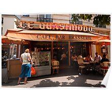Cafe Quasimodo Paris Poster