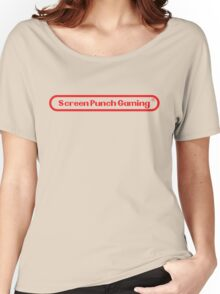 Screen Punch Gaming Alternate Women's Relaxed Fit T-Shirt