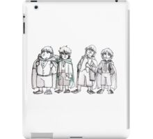 Four of Nine companions iPad Case/Skin