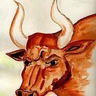 The Bull Horns by Anne Gitto