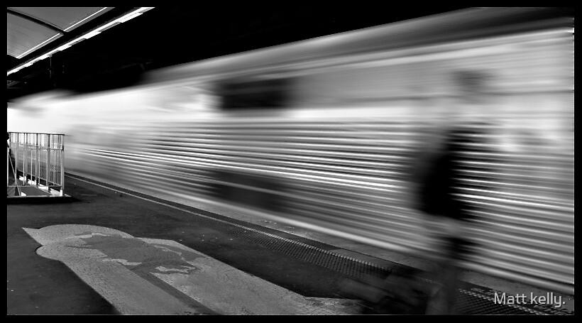 Sydney trains by Matt kelly.