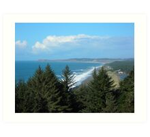 Port Orford Head to Cape Blanco Art Print