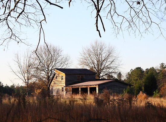 Field House In Fall by Jonathan  Green