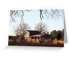 Field House In Fall Greeting Card