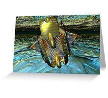 Waves Master the Wind Greeting Card
