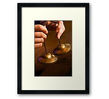 Meditation Bells Framed Print