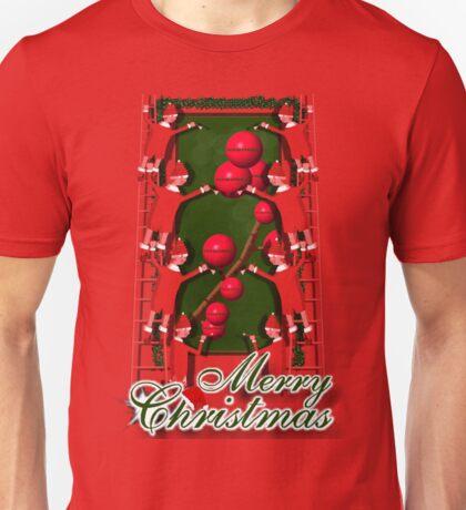 Dropping hints for Santa Unisex T-Shirt