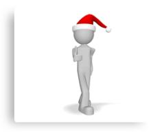 character 3d Christmas ok Canvas Print