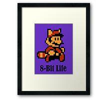 8-Bit Life Framed Print